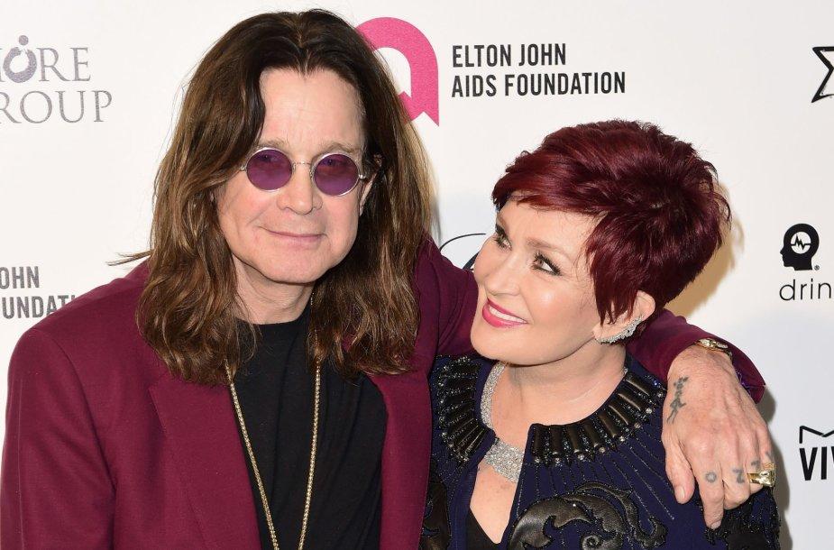 Sharon ir Ozzy Osbourne'ai