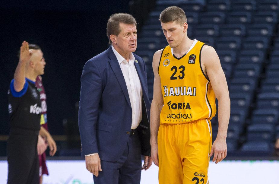 Antanas Sireika ir Justas Furmanavičius