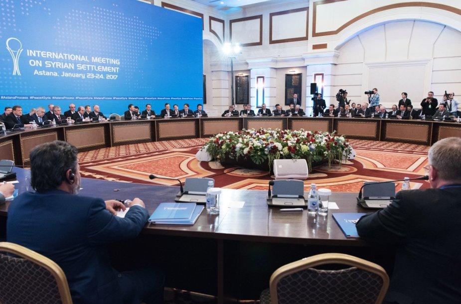 Sirijos taikos derybos Astanoje