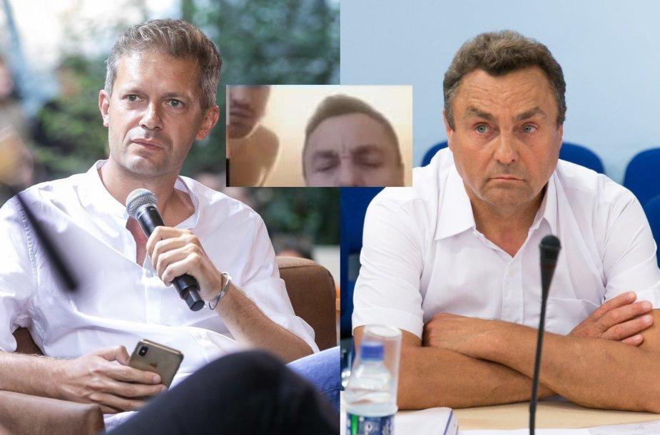 Andrius Tapinas ir Petras Gražulis