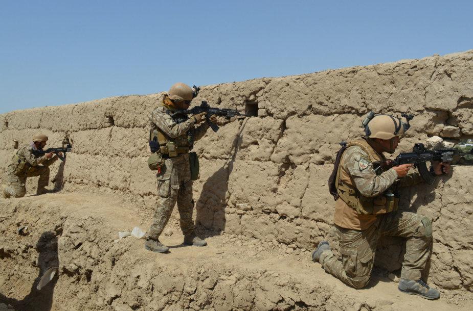 Afganistano kariai Kundūzo mieste