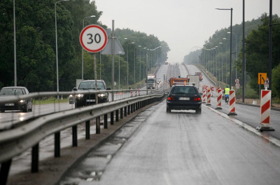 Kelias į Kauno oro uostą