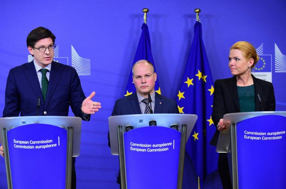 Briuselyje baigėsi derybos dėl Švedijos ir Danijos sienų kontrolės