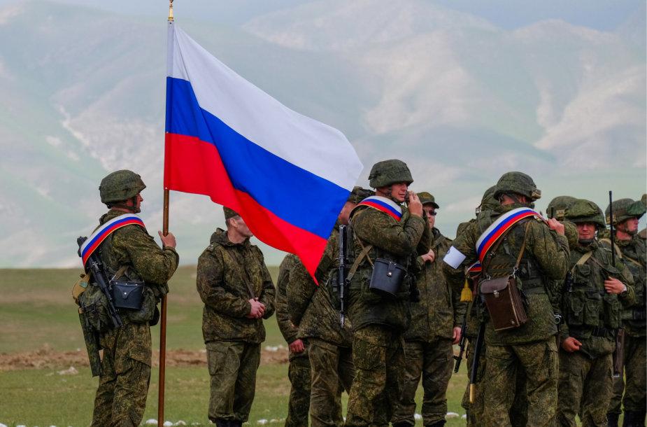 Bendros Rusijos ir Tadžikistano karinės pratybos