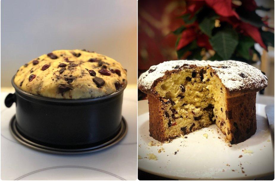 Mielinis Kalėdų pyragas