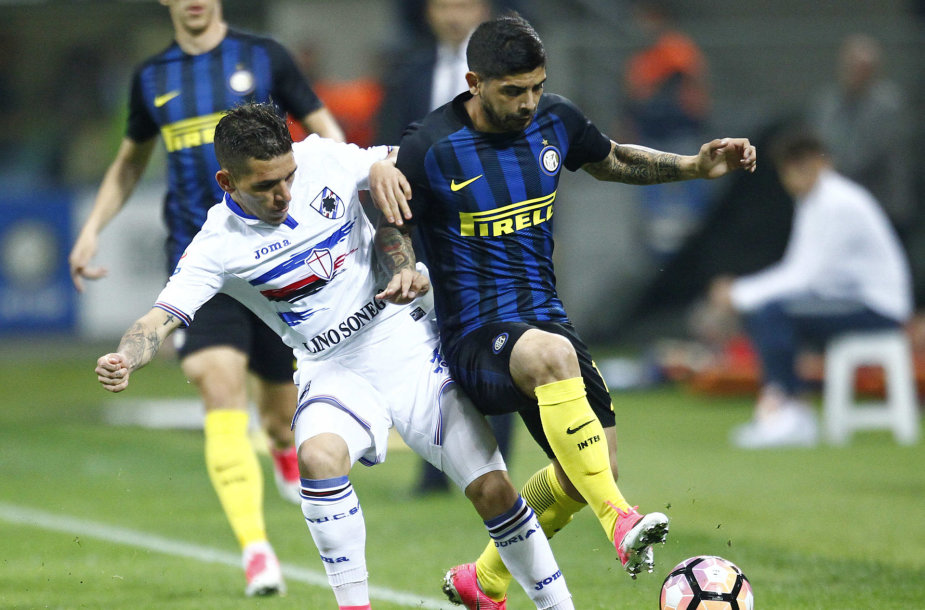 "Milano ""Inter"" – Genujos ""Sampdoria"""