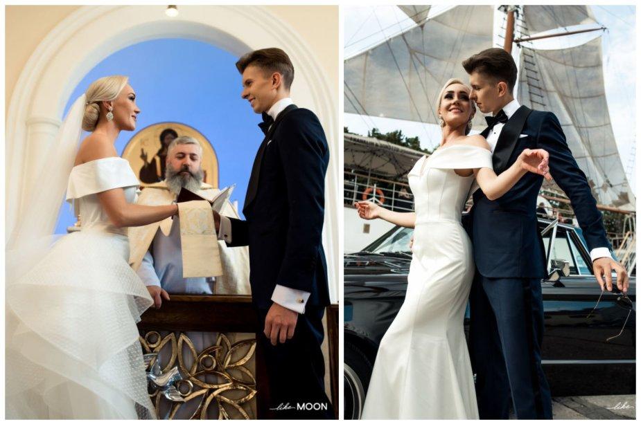 Ernesto Mongino ir Lauros Staržinskaitės vestuvių akimirka