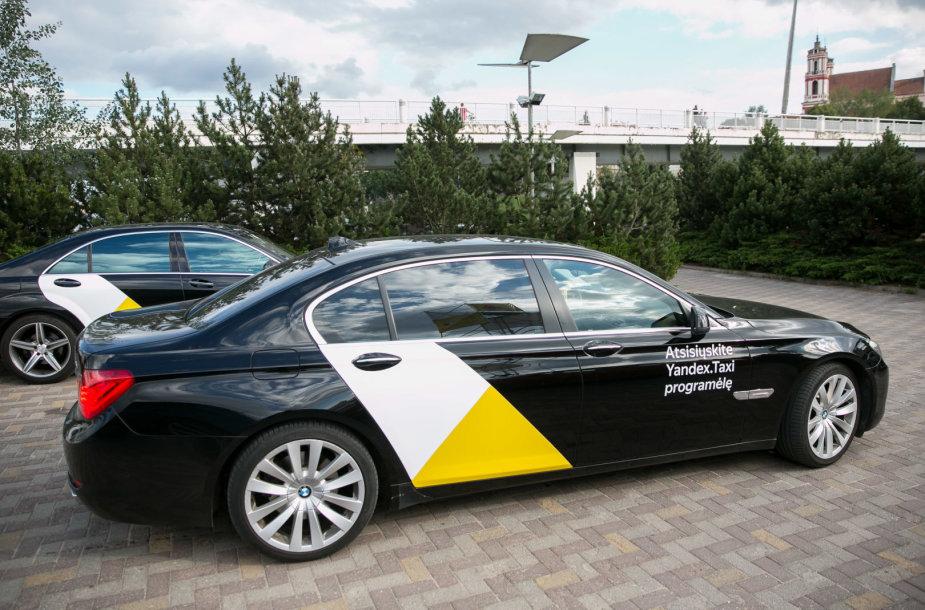 """Oficialus """"Yandex. Taxi"""" prisistatymas"""