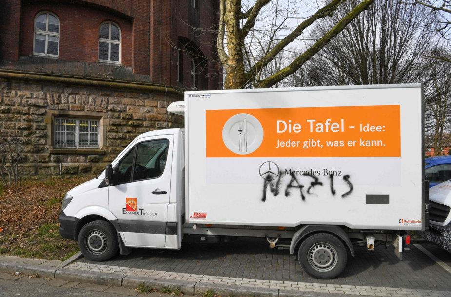 "Vandalai organizaciją ""Essener Tafel"" vadina ""naciais"""