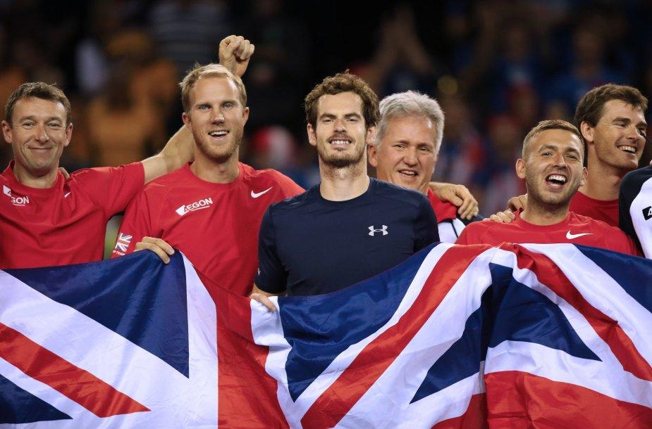 Didžiosios Britanijos teniso rinktinė