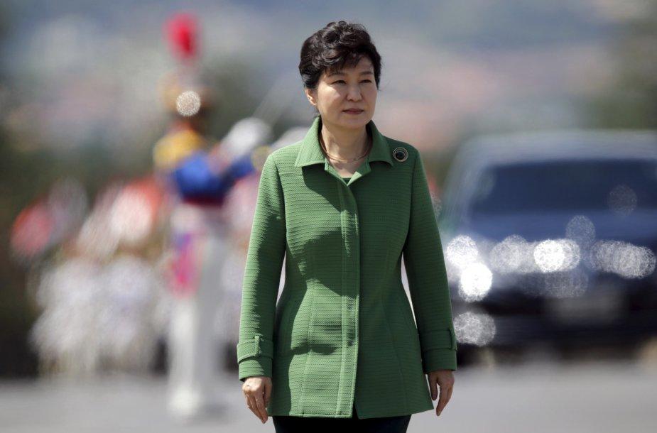 11. Pietų Korėjos prezidentė Park Geun-Hye