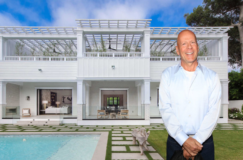 Nauji Bruce'o Williso namai Los Andžele