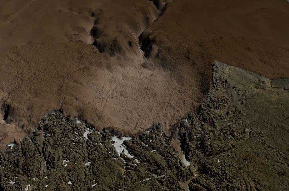 Krateris Grenlandijoje