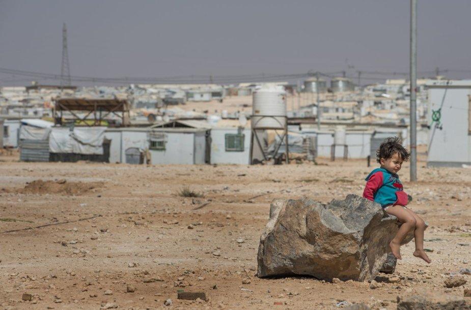 Sirijos pabėgėlių stovykla Zaatari, Jordanijoje