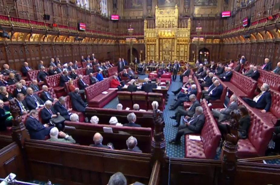 Jungtinės Karalystės Lordų Rūmų posėdis