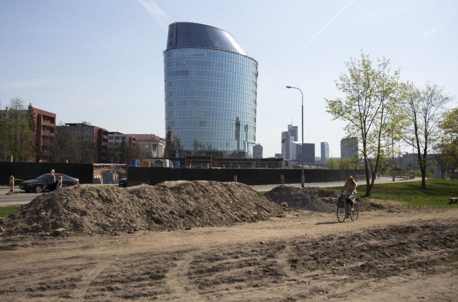 Statybos Upės gatvėje Vilniuje