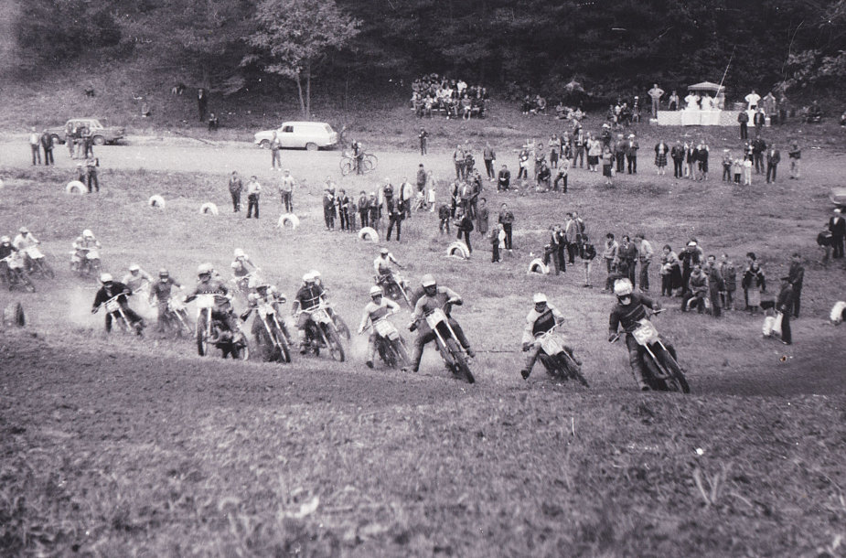Varžybos Pagirių motokroso trasoje