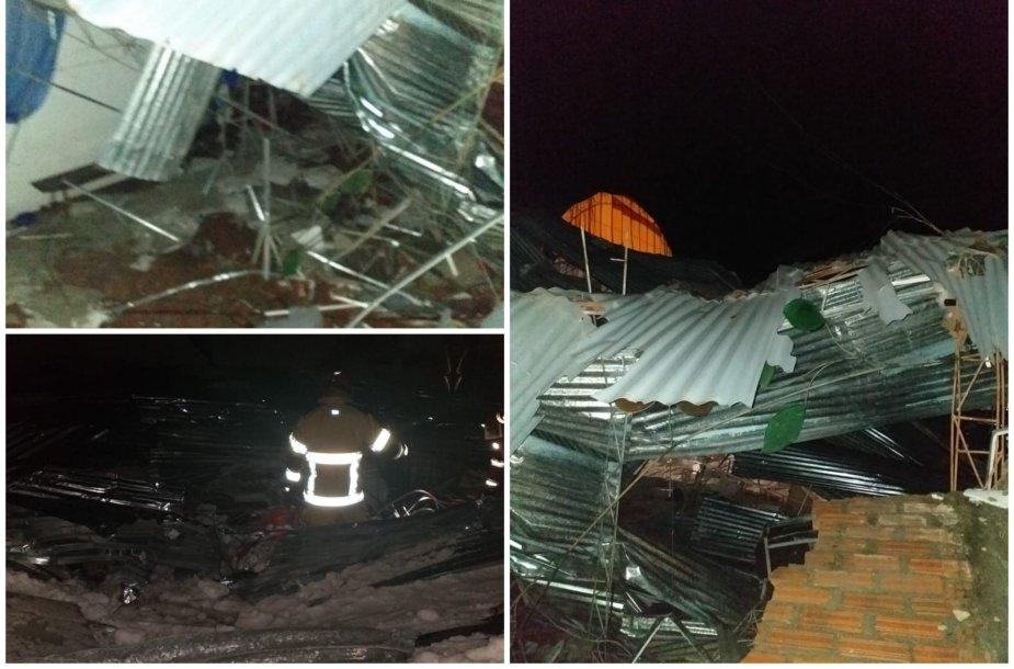 Peru ant karnavalo dalyvių užgriuvus stogui žuvo šeši žmonės