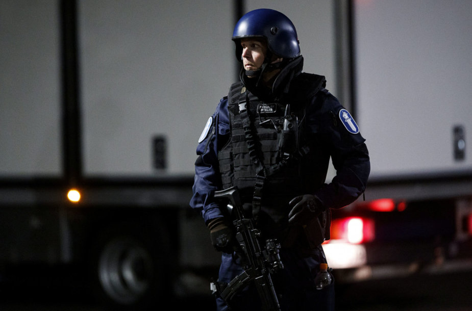 Suomijos policininkas