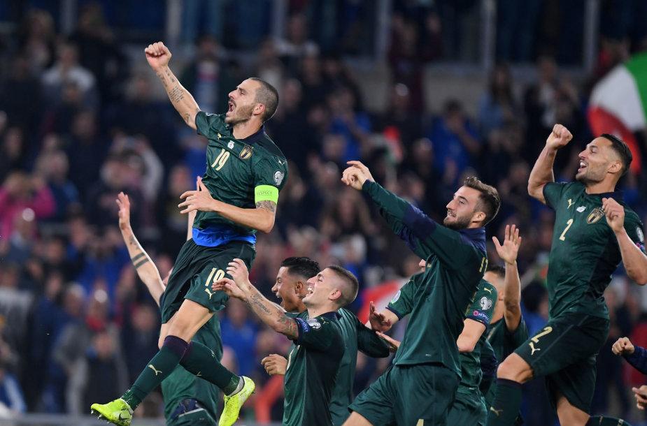 Italijos futbolo rinktinė