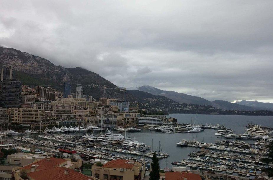 Monako jachtų uostas