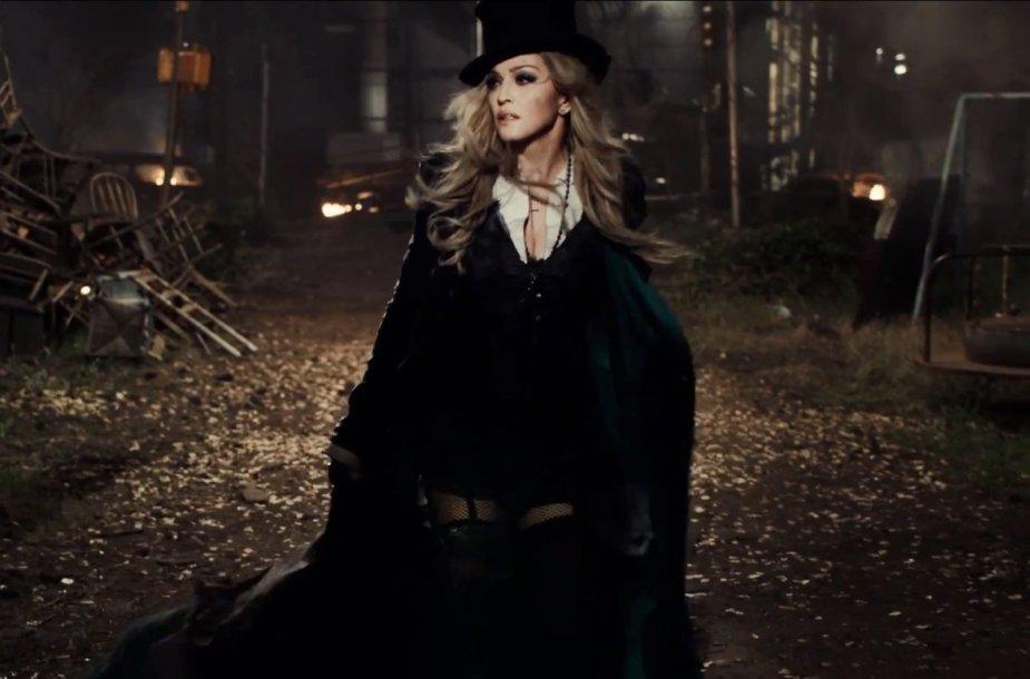 """Madonna vaizdo klipe """"Ghosttown"""""""