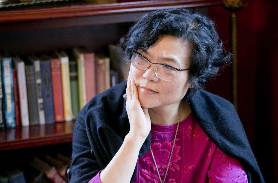 Kinijos rašytoja ir žurnalistė Lijia Zhang
