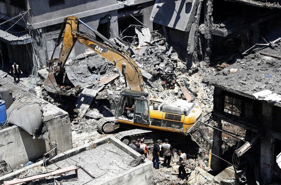 Gazos mieste per sprogimą žuvo žmogus, dar 10 sužeista