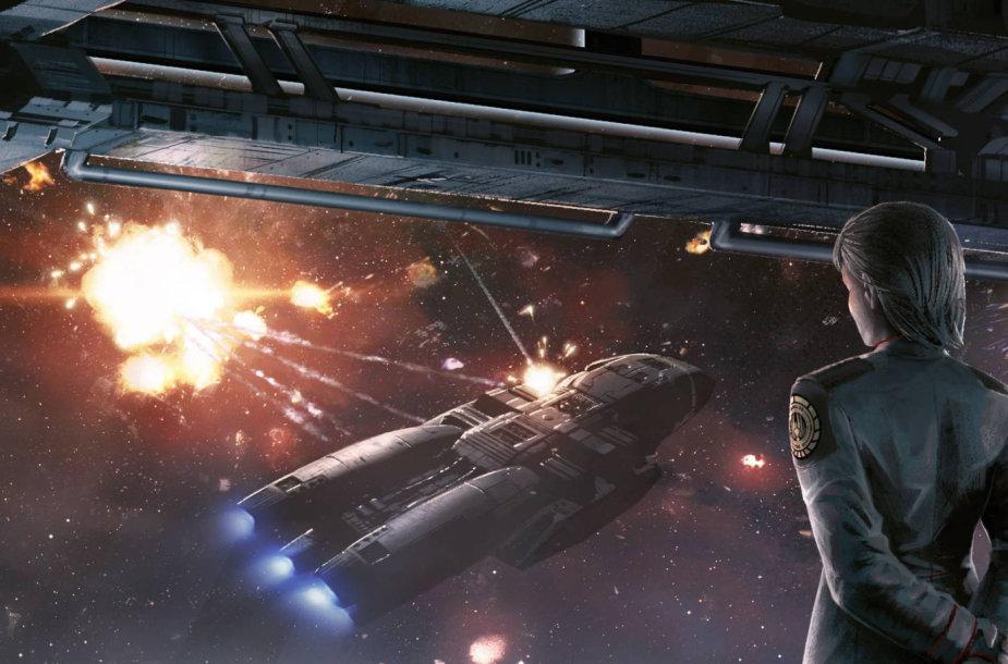 "Žaidimas ""Battlestar Galactica: Deadlock – Ghost Fleet"""