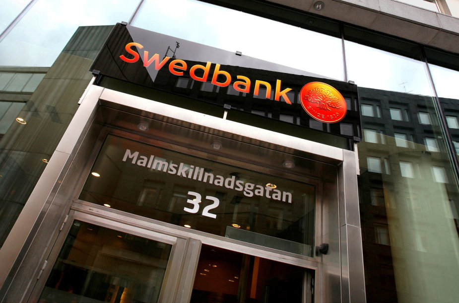 """""""Swedbank"""" skyrius Stokholme"""