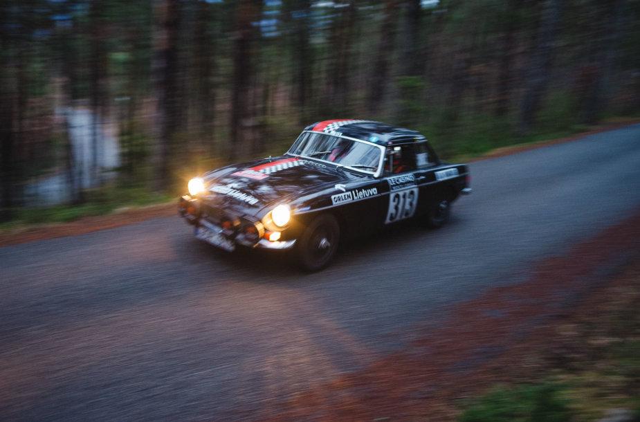 "Pirmoji ""Rallye Monte-Carlo Historique"" diena"
