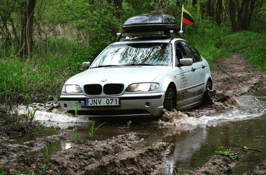 Kelionė su BMW aplink Lietuvą
