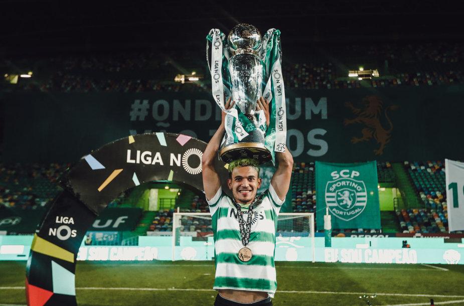 """""""Sporting"""" triumfas"""