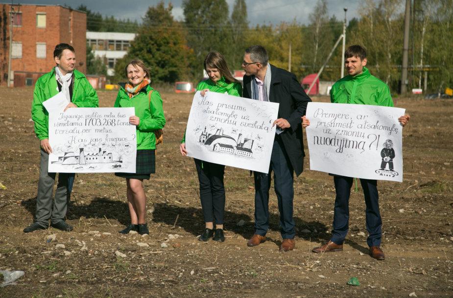 Vilniaus kogeneracinės jėgainės statybų pradžios ceremonija