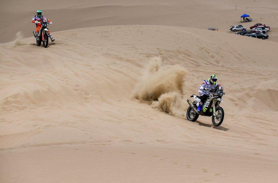 Gražiausi kadrai iš pirmų Dakaro ralio etapų