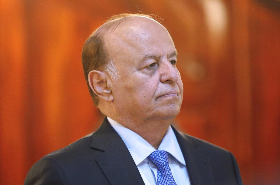 Jemeno prezidentas Abdrabuh Mansuras Hadi