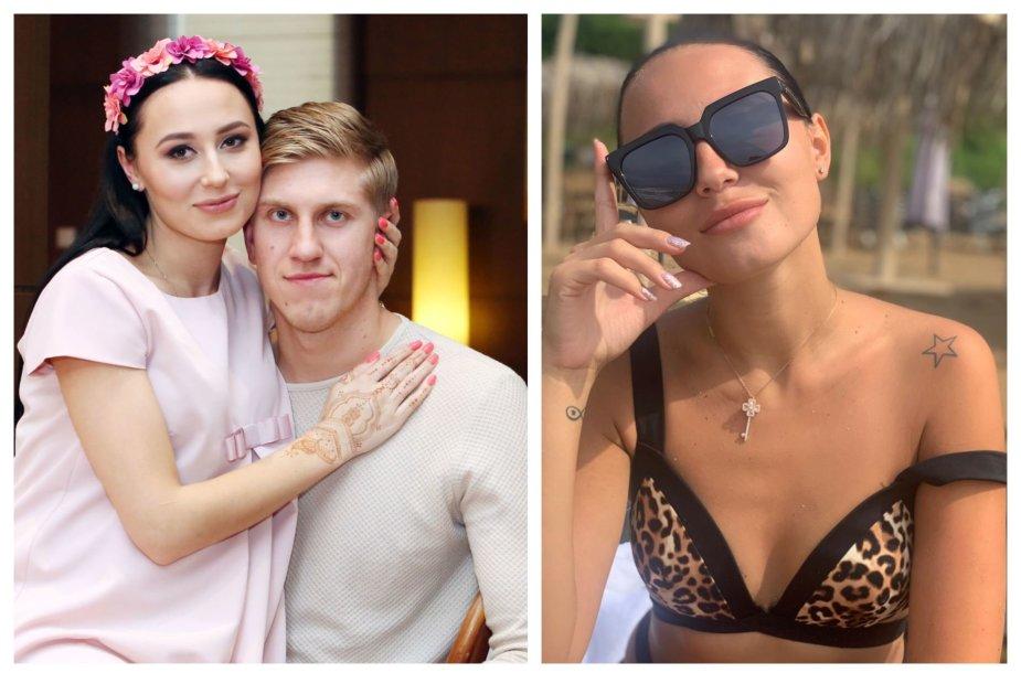 Gabrielė Rutkauskienė-Vasha ir Ronaldas Rutkauskas