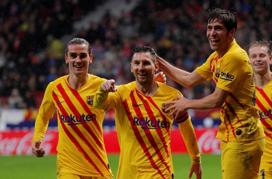 "Madrido ""Atletico"" – ""Barcelona"""