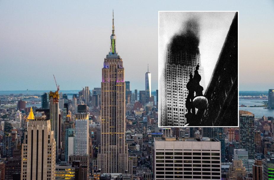 Prieš Rugsėjo 11-ąją dar kitas lėktuvas yra trenkęsis į Niujorko dangoraižį