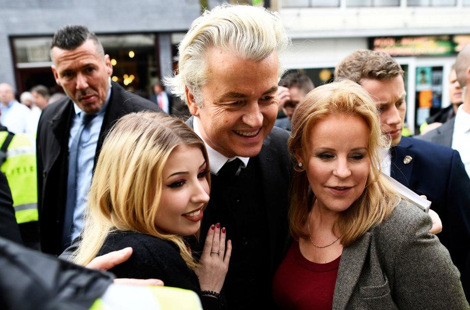 Laisvės partijos lyderis Geertas Wildersas