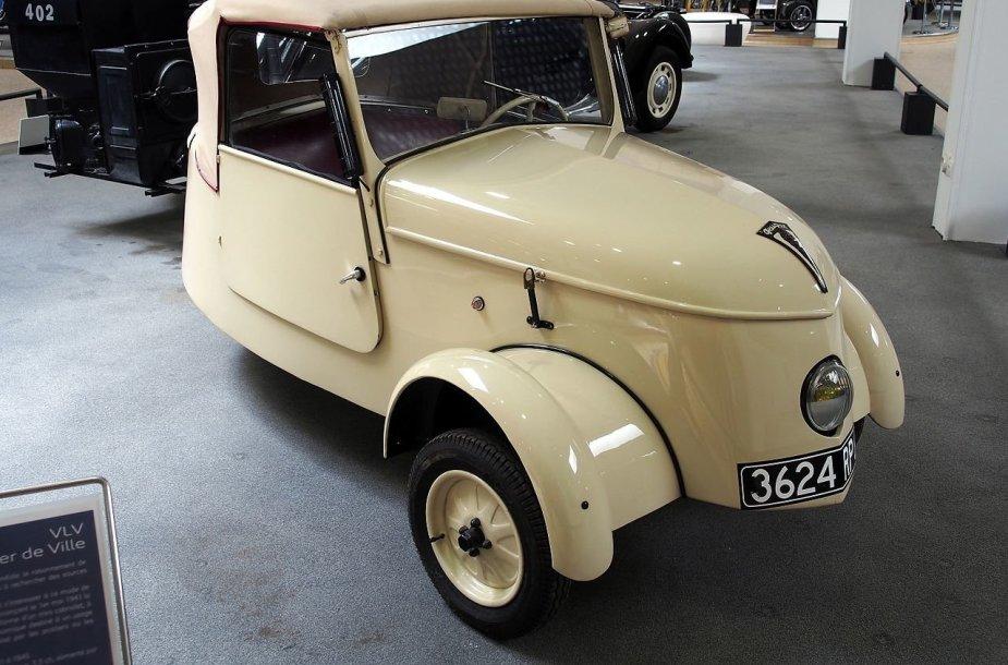 Peugeot VLV buvo savotiškai gražus automobilis, nors ir buvo kuriamas kiek įmanoma pigiau. (Alf van Beem, Wikimedia)