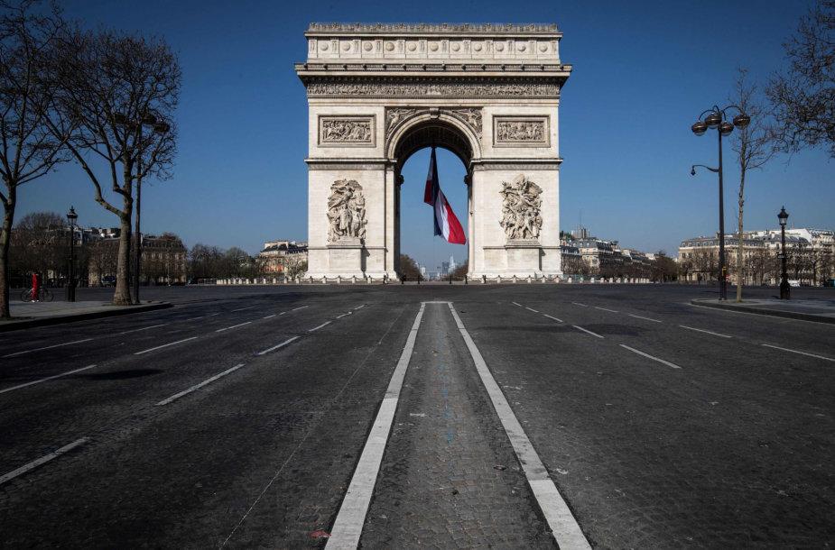 Tuščias Paryžius