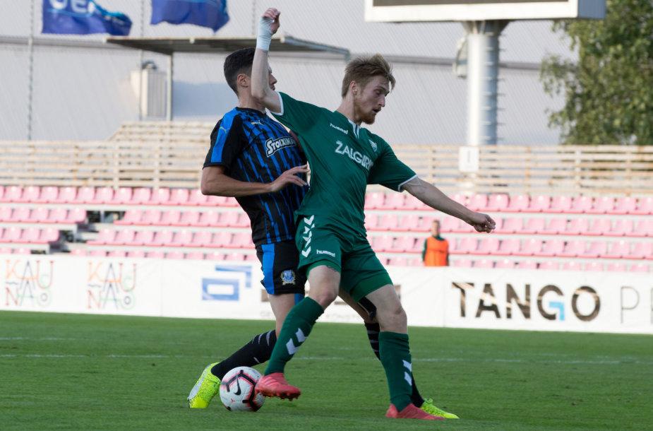 UEFA Europos lygos pirmojo atrankos etapo rungtynės tarp Kauno Žalgirio  ir Limasolio Apollon komandų
