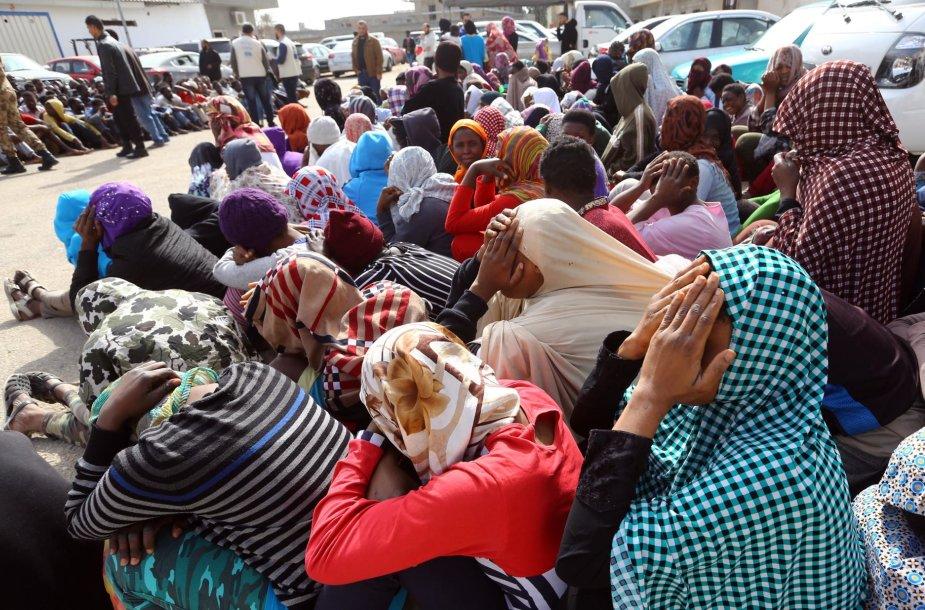 Prie Libijos išgelbėta 700 migrantų