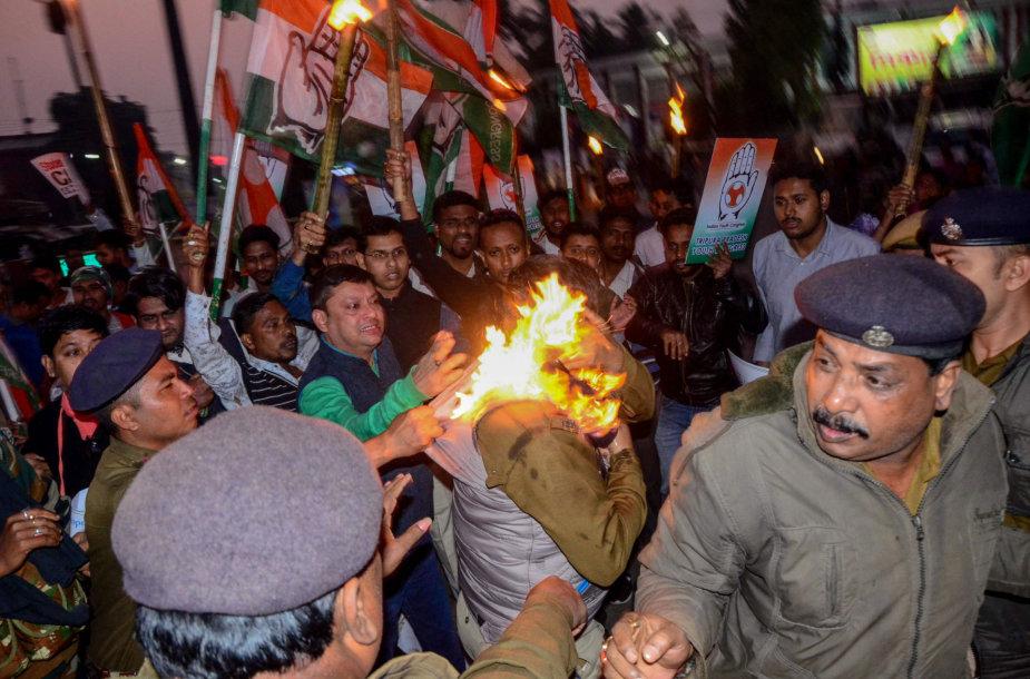 Protestas prieš pilietybės įstatymą Indijoje