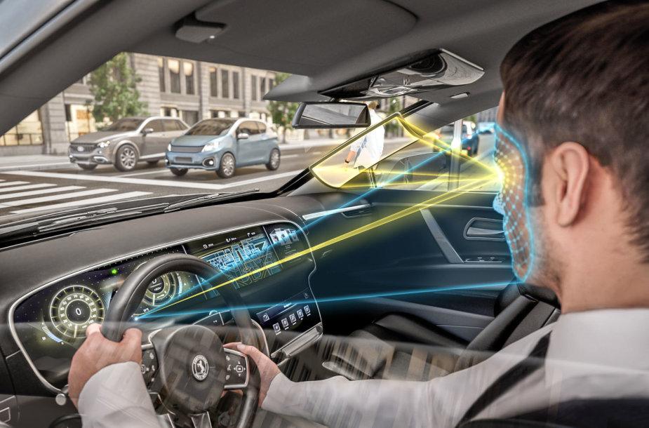 Technologija naudoja vairuotojo judesių sekimo sistemą