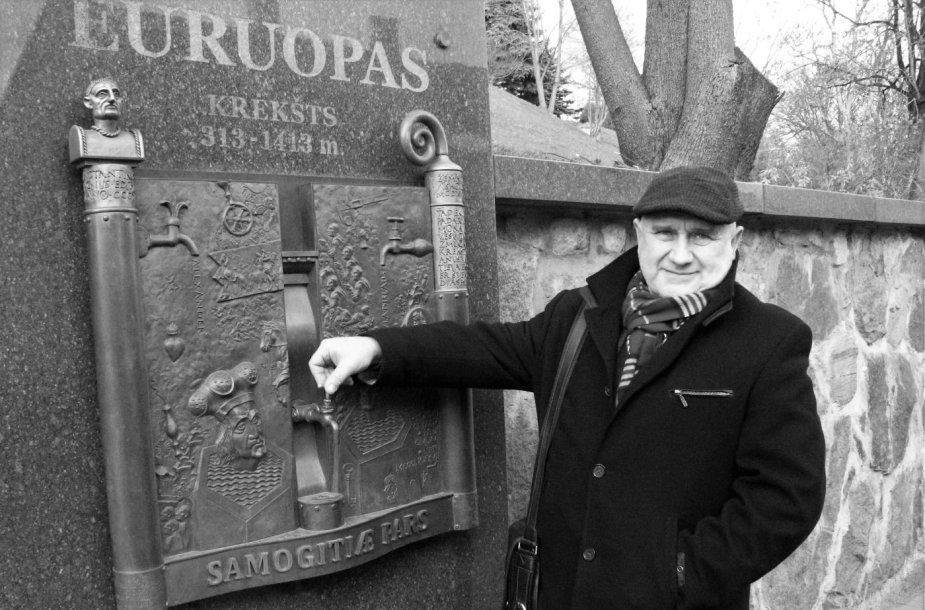 """R.Inčirauskas """"Žemaičių sienoje"""" įamžino Europos krikštą"""