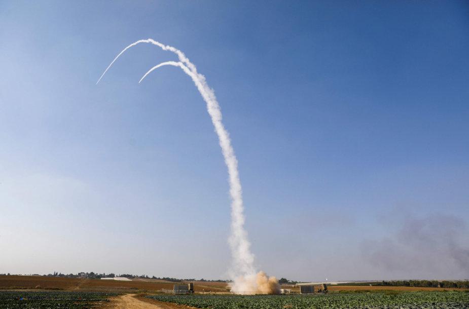 Izraelis paleido raketą