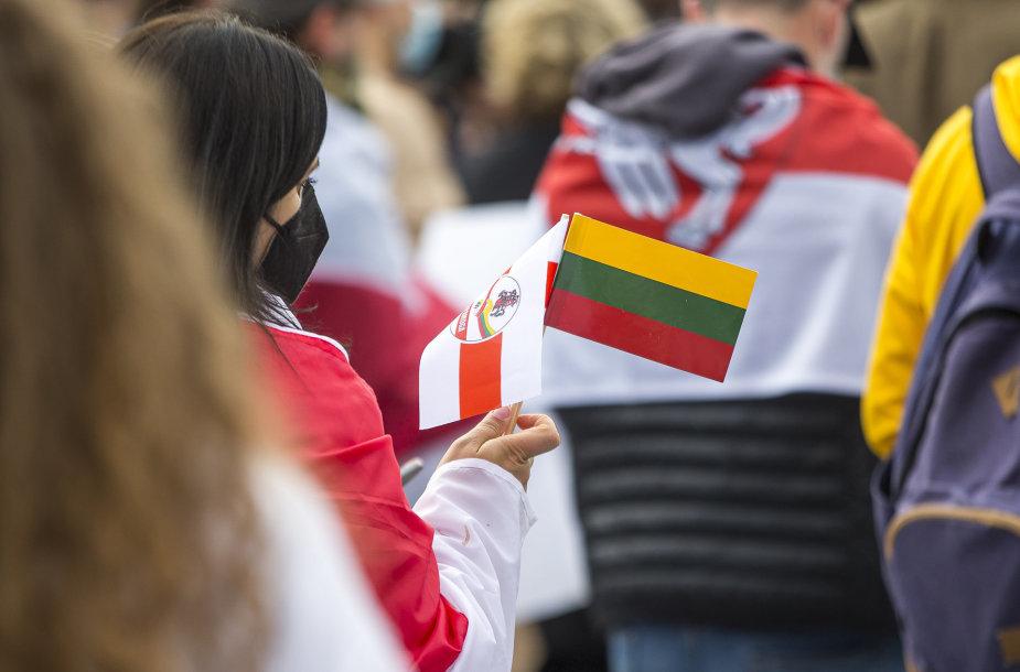 Palaikymo akcija Baltarusijai