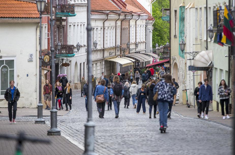 Penktadienis Vilniaus senamiestyje